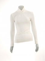 CREAM Light knit Turtle neck W14