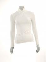 CREAM Light knit Turtle neck W14