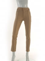 MOCCA High waisted pin tuck pants,avail in BLK W026