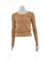 MOCCA Short Knit with Bow detail W-09