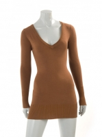 MOCCA long V-neck knit W07