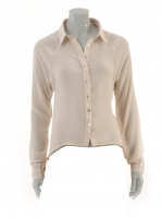 NUDE Blouse with lace back detail S3850