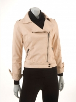 SALMON Vinyl Jacket also avail in TAUPE M1036