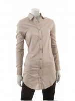 TAUPE Long blouse M1037