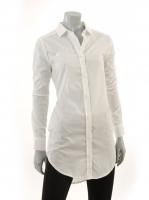 WHITE Long blouse M1037
